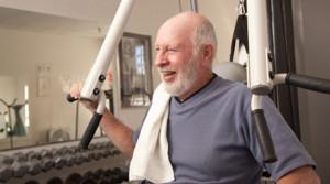 image of strength training