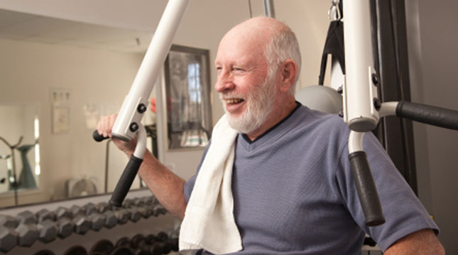 Its never too late & your never too old to start an exercise program