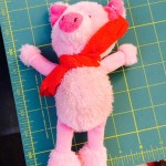 Sweetpea's favorite pig toy quit squeaking